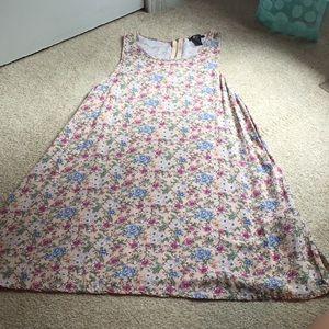 Forever 21 floral loose fitting dress